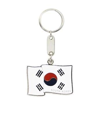 Amazon.com: Llavero bandera de Corea del Sur: Shoes