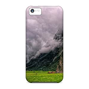 Defender Case For Iphone 5c, Gorgeous Clouds In The Valley Hdr Pattern