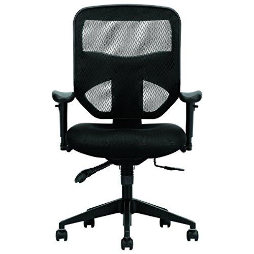 basyx by hon high back task chair mesh computer chair