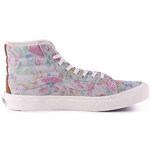 Vans Sk8-Hi Slim Womens Suede Trainers Multicolour - 38 EU