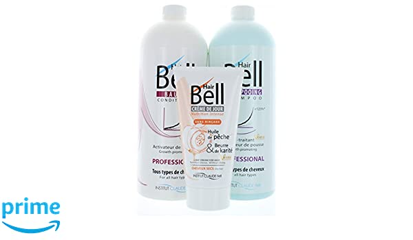 Hairbell Champú + Conditioner + haircream Intensivo Pro como Hair Jazz/Hair Plus: Amazon.es: Belleza