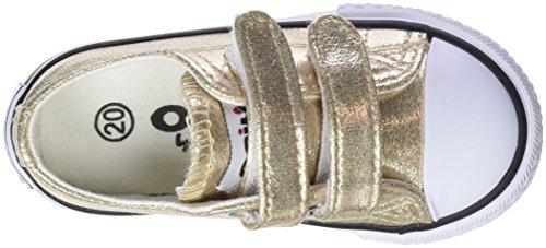 Conguitos Mädchen Sneaker Metalizado Velcro Slip On Silber (Platino)