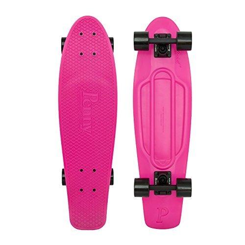 Penny Nickel Board Classic Complete Skateboard, PUNK PINK, 27''