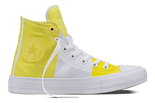Hautes Taylor Adulte C155417 Star Converse Jaune Mixte Yellow White Chuck II Baskets White White All Fresh xq5wY8Z1