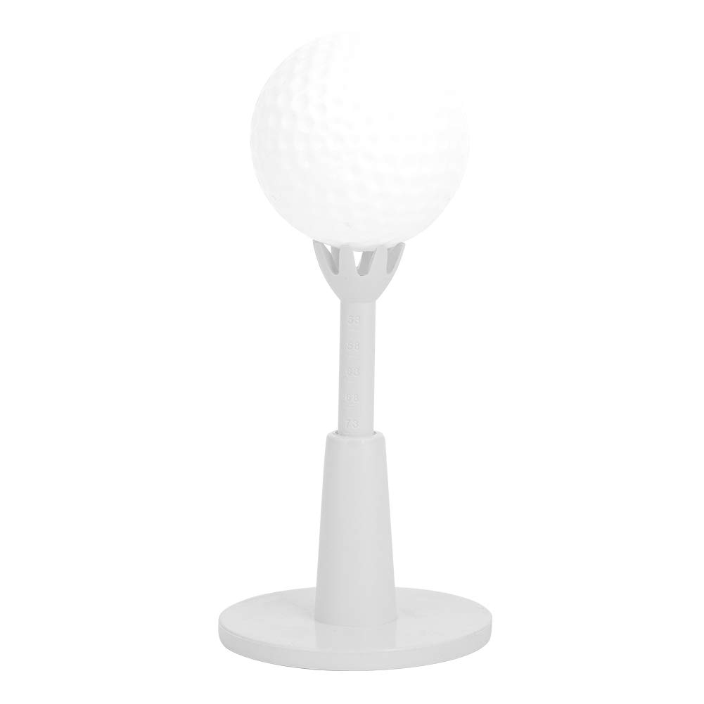 Golf Range Tees, Golf Ajustable de Plástico Blanco Tees Durable Practice Training Golf Tees