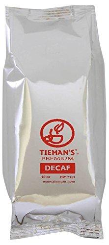 - Tieman's Fusion Coffee, Low Acid Semi-Dark, Decaf Roast, Ground, 10 Ounce (6 Pack)