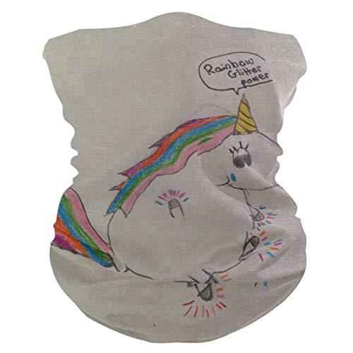 Cute Baby Real Unicorns Balaclava Womens Headband Scarf Mens Versatile Bandana, Muffler, Neck Gaiter, Magic, Wristband Helmet Liner