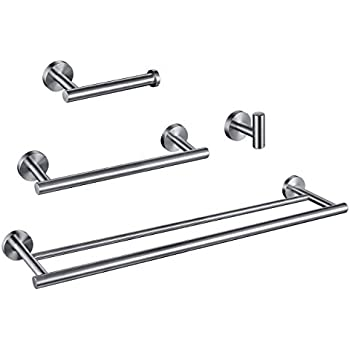 Amazon.com: KES SUS 304 Stainless Steel 4-Piece Bathroom