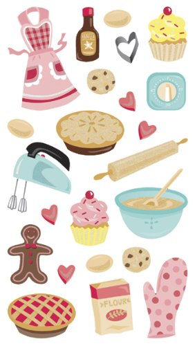 Sticko Classic Stickers, Baking ()