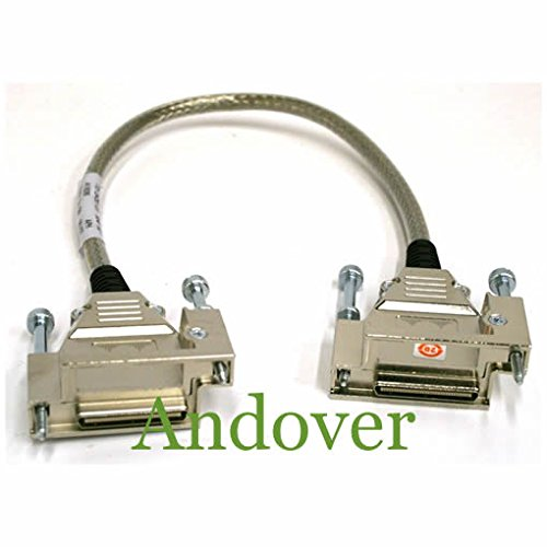 Cab 1 Meter Stack (CISCO CAB-STACK-1M-NH Cisco StackWise 1M Non-Halogen Lead Cisco CAB-STACK-1M-NH 1M Stacking Stackwise Cable Non Halogen Lead)