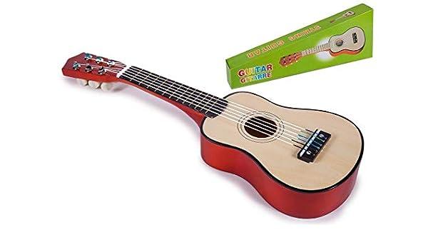 Toinsa - Guitarra Española de Madera: Amazon.es: Juguetes y juegos