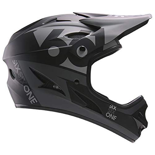 SixSixOne Comp Full Face Helmet Black - L 661 Full Face Helmet