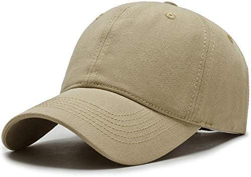 Aumente la Circunferencia de la Cabeza Gorra Deportiva Coreana Sombrero para el Sol Gorra de béisbol al Aire Libre Gorra de Moda Sombrero para el Sol