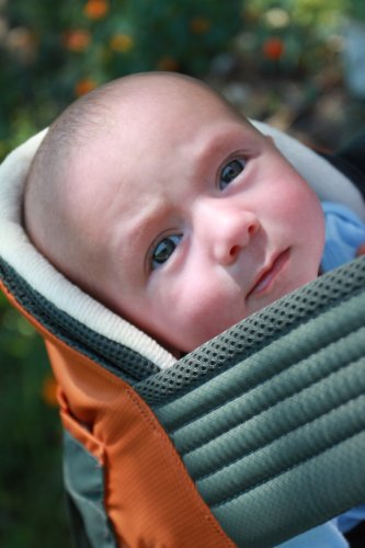 Onya Baby Carrier Booster - Chocolate Chip by ONYA (Image #1)