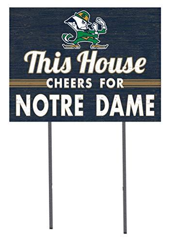 KH Sports Fan 18x24 Lawn Sign Notre Dame