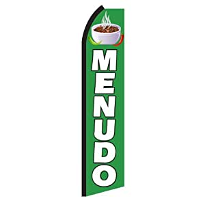 """NEOPlex - """"Menudo"""" Swooper Feather Business Flag"""