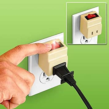 Amazoncom Outlet Switch Wall Electrical Plugin Extensions Baby