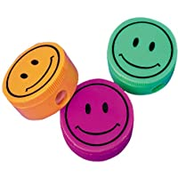 Smiley Face Pencil Sharpeners