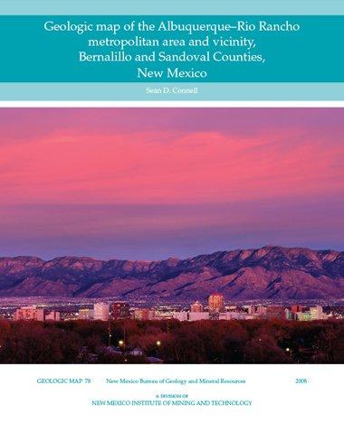 Download Geologic Map of the Albuquerque-rio Rancho Metropolitan Area and Vicinity, Bernalillo and Sandoval Counties, New Mexico PDF