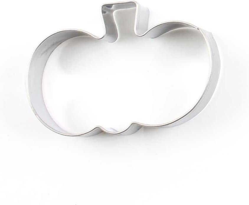 12 Pieces Biscuit Cookie Cutter Apple-shaped Jelly Pastry Craft Fondant Molds