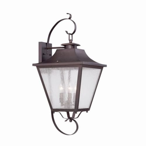 Acclaim 8723ABZ Lafayette Collection 3-Light Wall Mount Outdoor Light Fixture, Architectural (Iii Outdoor Gas Lantern)