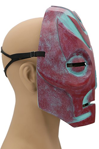Skyrim Mask Elder Dragon Scrolls Red Resin Mask Game Cosplay Props XCOSER