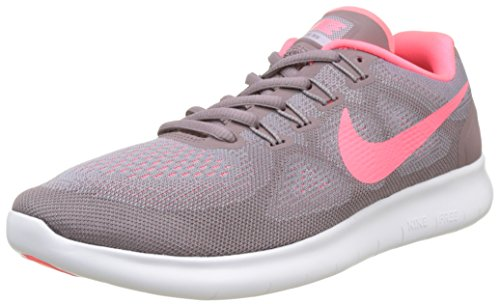 Nike Women's Free RN 2017 Running Shoes-Provence Purple/Hot Punch/Taupe Grey-10