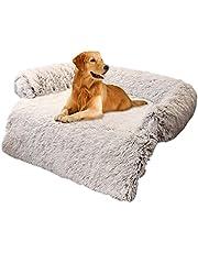 TLM Toys Fluffig hundfilt, kattfilt med supermjuk tvättbar fleecefilt valpar mjuk varm matta, gosig filt fluffig för husdjur hundar katter, soffskydd för hundbädd soffa och soffa