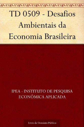 TD 0509 - Desafios Ambientais da Economia Brasileira