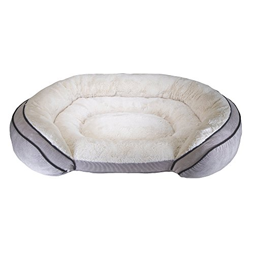 Sterling Bolster (Worldwise Sterling Premium Gel Bolster Bed Dog Bed, 42