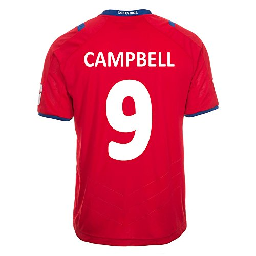 (Lotto Campbell #9 Costa Rica Home Jersey World Cup 2014 (YS))