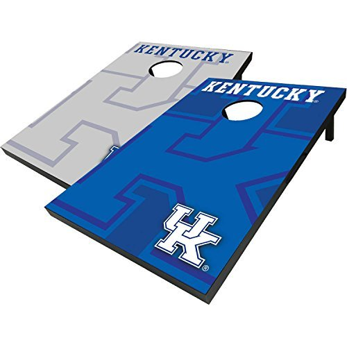Kentucky Wildcats Cornhole Bean Bag Toss with 8 Bean Bags, Officially Licensed NCAA Football (Cornhole Bags Canada compare prices)