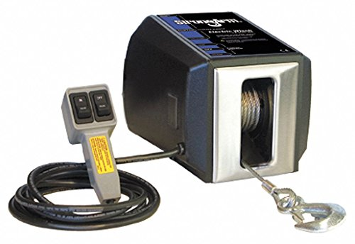 115VAC Lifting Electric Winch with 3.5 fpm and 2700 lb. 1st Layer Load Capacity
