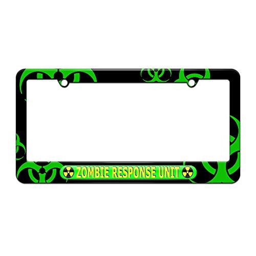 license plate frame biohazard - 2