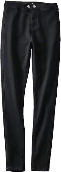 AngelSpace Women Body Enhancing Denim Big Pockets Highwaist Stretch Denim Pants