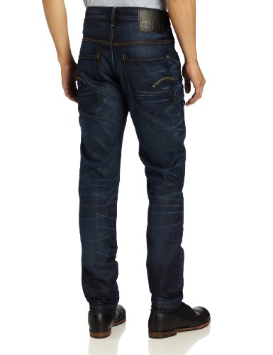 RAW hombre Dk Star Vaqueros Azul para Aged carrot STAR G G pwCT5qC