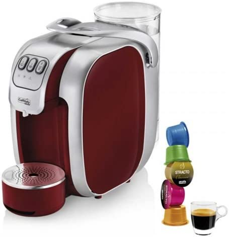 CAFET. CAFFITALY MUREX S07 RED&SILVER STRACTO: Amazon.es: Hogar