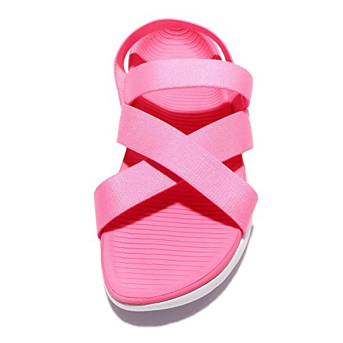 Nike Roshe Sandaal Dames Sandaal Schoenen 830584-681 Pink Blast / Total Crimson-white
