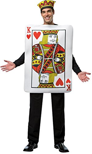 Rasta Imposta Men's King Of Hearts LW, Multi, One (King Of Hearts Costume)