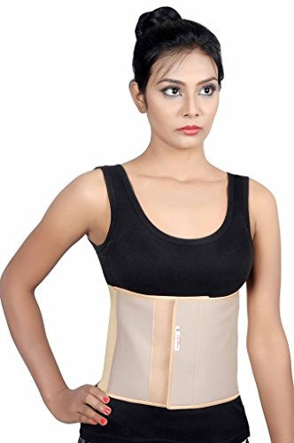 Post Operative Recovery - Abdominal Belt full elastic binder after C-Section delivery for women for slim Support Maternity tummy waist belly trimmer fat burner post-natal/operative postpartum recovery Girdle Belt A104 - XL