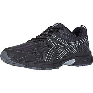 נעלי ריצה לגברים gel venture 7 trail של חברת asics עם טכנולוגיית ספיגת זעזועים