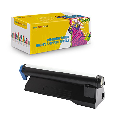 Price comparison product image New York TonerTM New Compatible 1 Pack 43979215 High Yield Toner for Oki-Okidata : B420 / B420DN / MB480 / MB480 MFP. --Black