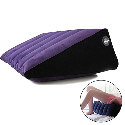 7'' (T) G Spot Magic Pillow for Adult Games, Sex Cushion for Couple Adult Sex Toys Position Support Pillow Cushion (Large Triangle) by EMPHY