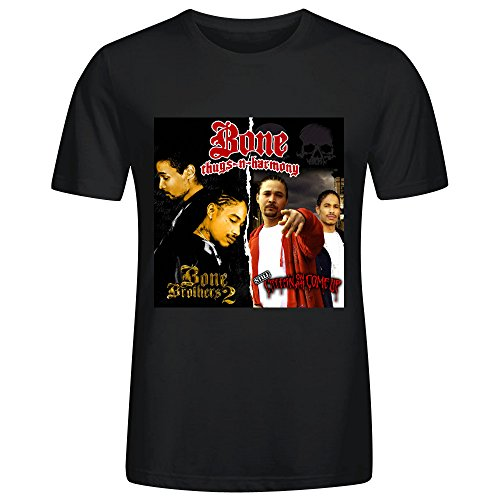 Pryor Bone (Bone Thugs N Harmony Still Creepin On Ah Come Up Tee Shirts Mens Black)