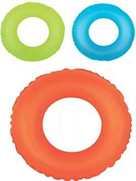 Flotador circular hinchable rueda fluor 76 cm. diámetro ...