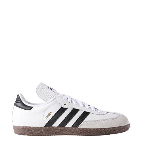 Adidas Men's Samba Classic Soccer Shoe,Run White/Black/Run White,12 M US