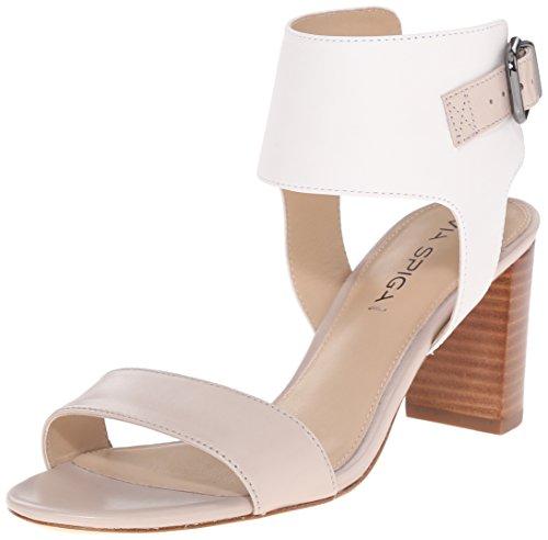 Sandale Damen Taupe Wiley Kleid Spiga Via Weiß xFqA1w