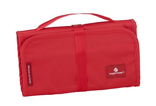 Eagle Creek Travel Gear Luggage Pack-it Slim Kit, Red Fire (Best Bathroom Cabinets Uk)