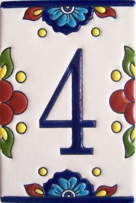 Fine Crafts Imports Mission Tile Number Four