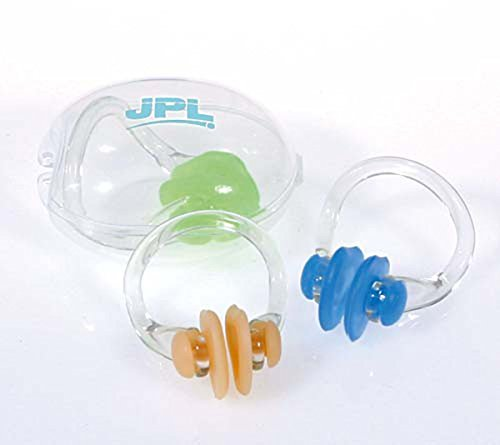 Jpl Pool Swimming Universal Size Safety Nose Clip Pack Of 10 by Jpl